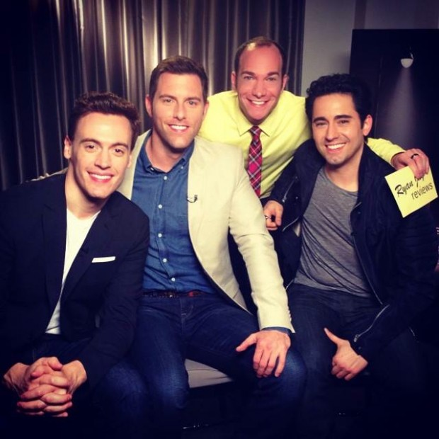 Jersey Boys Cast Interview