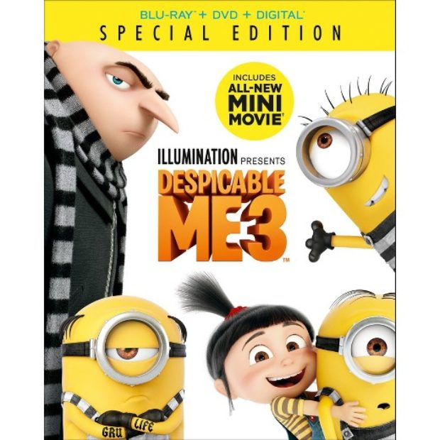 Win: Despicable Me 3 on Blu-ray