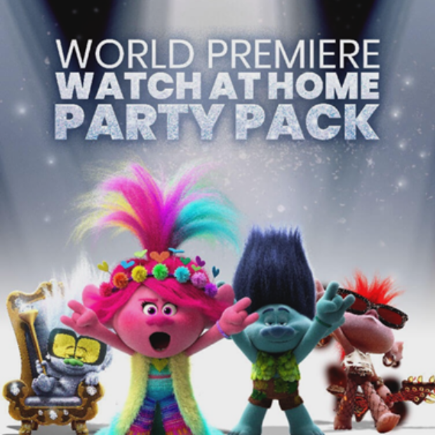 Free Trolls World Tour Party Pack