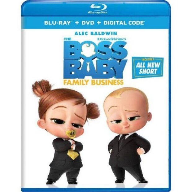 Win – The Boss Baby: Family Business Blu-ray